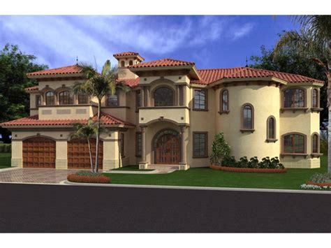 Spanish Mediterranean Revival Luxury Spanish Mediterranean
