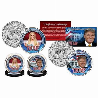Trump Coin Ivanka Donald President Jfk 45th