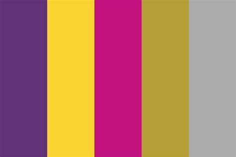 thai airways color palette