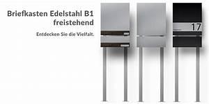 Briefkasten Freistehend Mit Hausnummer : moderne edelstahl briefkasten und klingelanlagen z e ~ Sanjose-hotels-ca.com Haus und Dekorationen