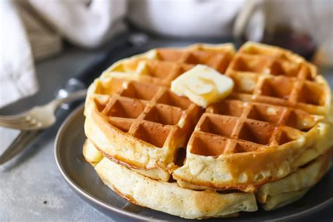 homemade waffle recipe best ever so easy baking a moment