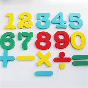 numbers eva fridge magnets baby educational set magnetic With magnetic letters for babies