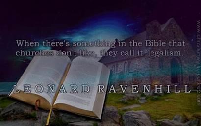 Legalism Ravenhill Leonard Quote Px Resolution Mb