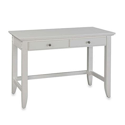 white student desk home styles naples student desk in white bed bath beyond