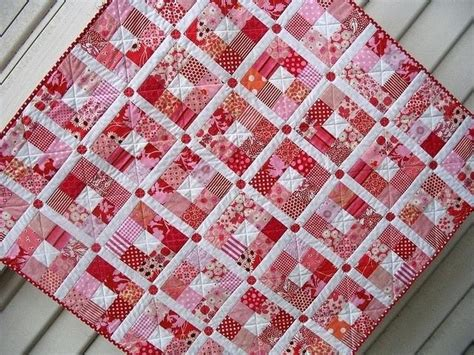 Red And White Quilts Connectme
