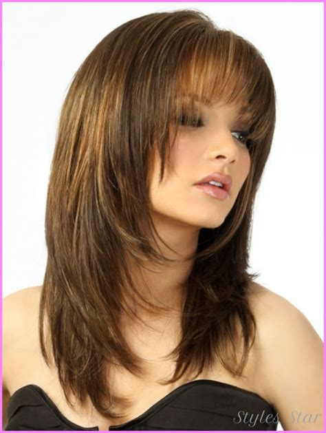 haircuts for faces hair layered haircuts for faces stylesstar