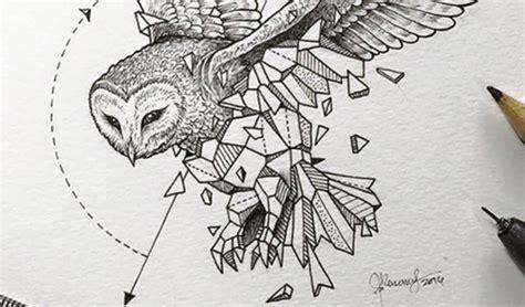 artist creates extraordinary geometric animal