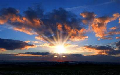 Sunset Clouds Wallpapers Desktop Psd Vector Graphic