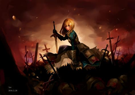 saber fate stay night hd anime  wallpapers images