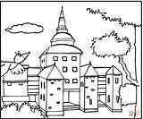 Mansion Coloring Pages Bird Houses Flying 1003px 39kb 1200 sketch template