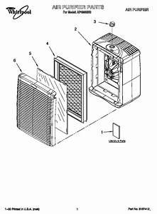 Whirlpool Air Purifier Parts