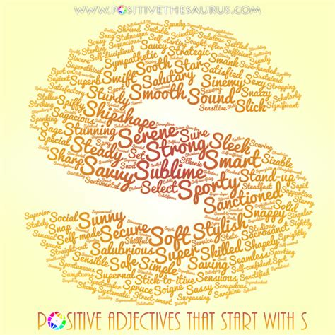 adjectives that start with the letter y positive thesaurus positive words for you sublime list 20398 | positive adjectives that start with s word cloud positivethesaurus com