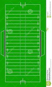 scale vector american football pitch stock images image