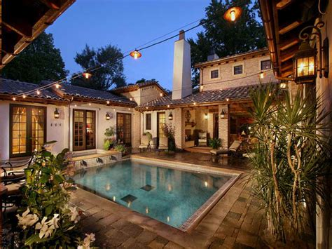 house plans with pool planning ideas mediterranean house plans with pools