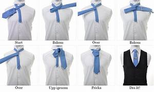 Knyta slips enkelt