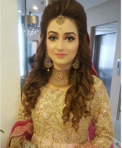 pakistani bridal hairstyles  fashion