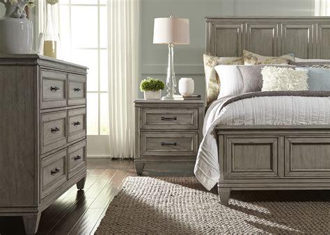 driftwood bedroom furniture grayton grove driftwood panel bedroom set from liberty 11484 | 573 br qpbdmn 3 1