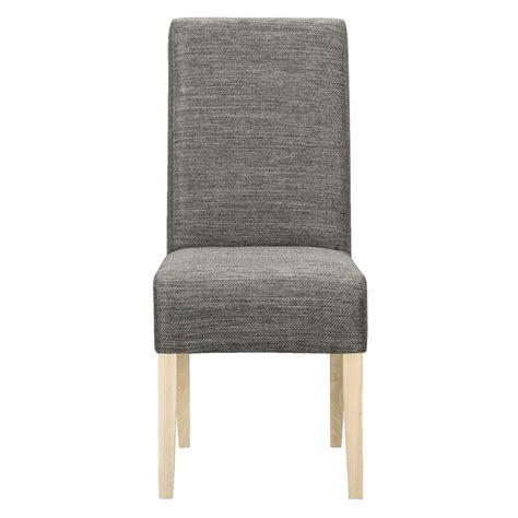 chaise grise tissu chaise ian tissu grise brune leen bakker