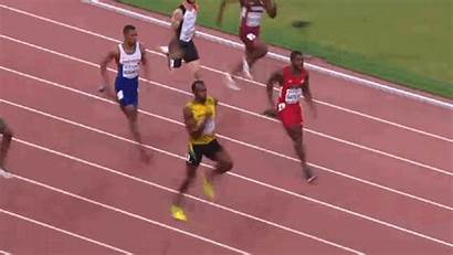 Bolt Usain Finish Line Jogging Gifs 200