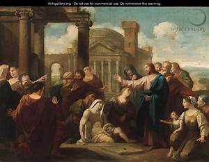 The Raising of Lazarus - Luigi Garzi - WikiGallery.org ...