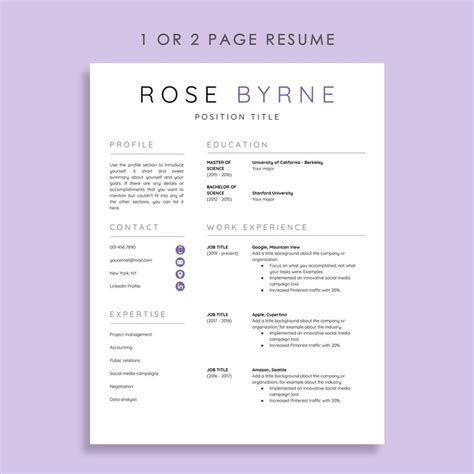 Resume Template Docs by 5 Docs Resume Templates And How To Use Them The