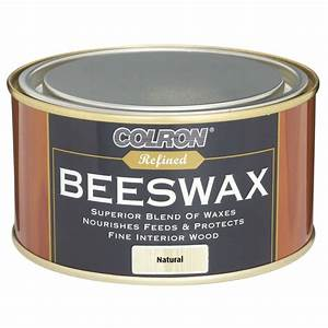 Colron refined beeswax wood polish natural 400g woodcare for Homemade beeswax furniture polish