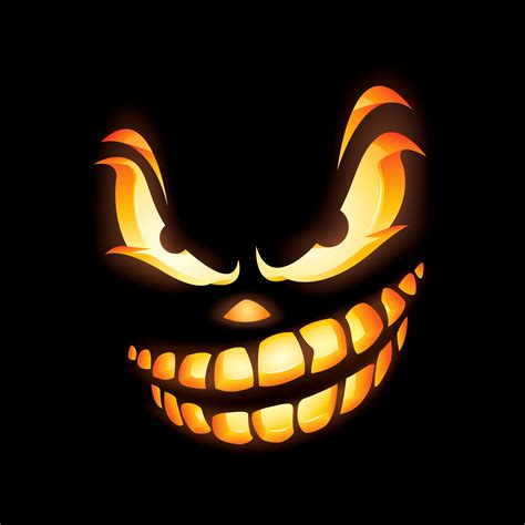 Scary O Lantern Template by Best Photos Of Scary O Lantern Templates Scary