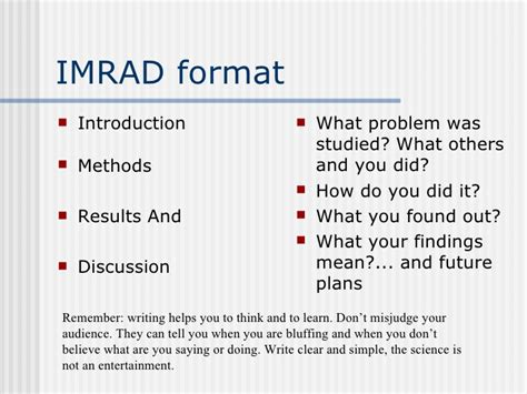 technical research writing english