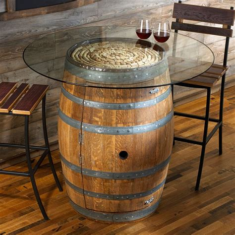 gorgeous diy wine barrel coffee table  pictures