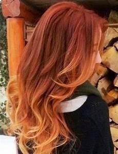 Ombré Hair Cuivré : hair color trends for 2018 red ombre hairstyles roux ~ Melissatoandfro.com Idées de Décoration