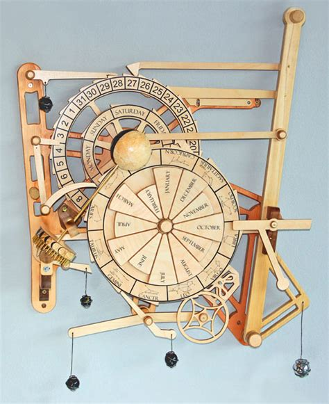 pdf diy easy wooden clock wooden gear clock plans from hawaii by clayton boyer