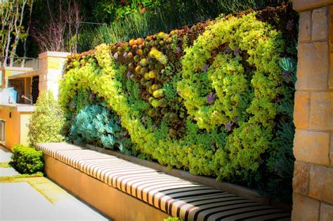 Ideas Green Walls by 20 Of The Most Beautiful Outdoor Living Wall Ideas