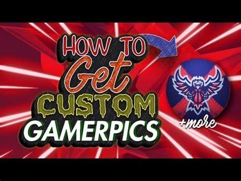 how to get custom xbox one gamerpics 2017