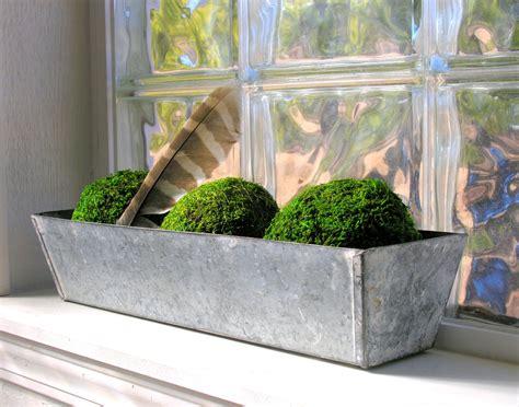 galvanized metal planter box window farmhouse garden