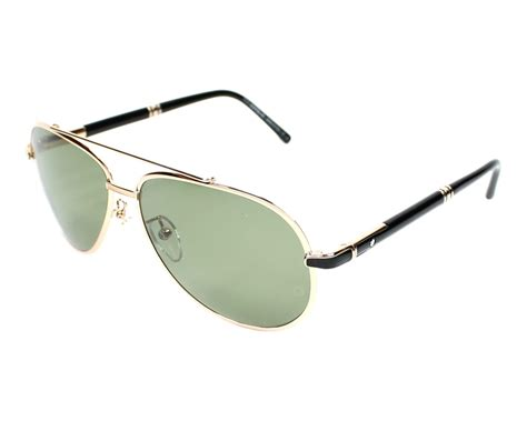 lunettes de soleil mont blanc mb 511 t 28r 62 visionet