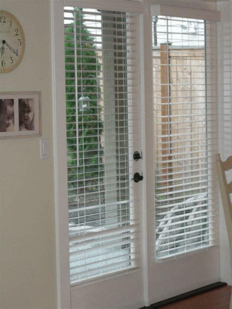 choosing french door blinds  design doors ideas