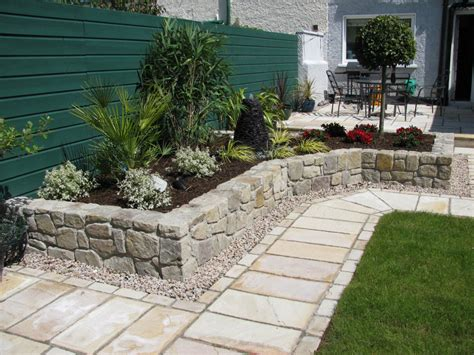 Stein Garten Design by Square Patio Design Ideas With Away And Small Garden