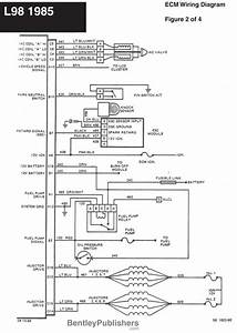 Wiring Diagram - L98 Engine 1985-1991  Gfcv