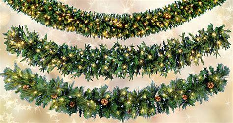 licht deko weihnachten deko tannengirlanden mit licht jetzt bestellen dekowoerner shop