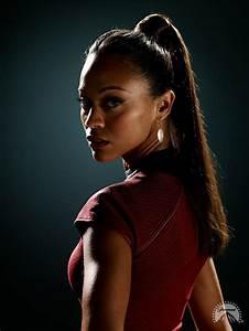 Zoe Saldana as Uhura, Star Trek   Characters   Pinterest ...