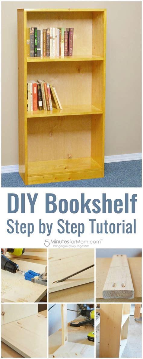 diy basic bookshelf   build  bookcase
