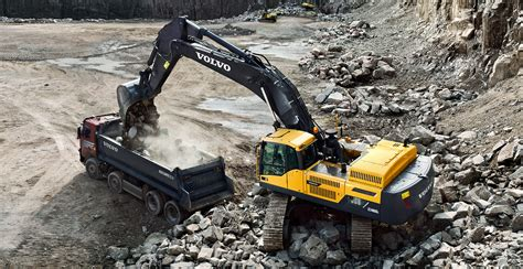 ecdl crawler excavators overview volvo