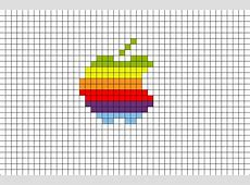 Pixel Apple Rainbow – BRIK