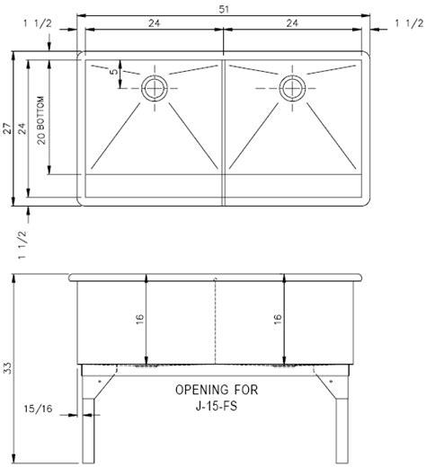 Sink Measurements - 45 sink measurements kitchen sink