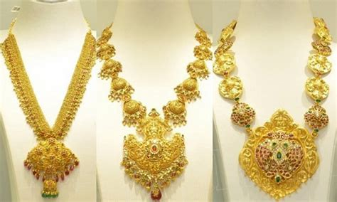 gold necklace designs in 40 grams evergreen collection