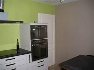 cuisine mur taupe quelle couleur de mur pour une cuisine With good cuisine mur rouge meuble blanc 17 decoration chambre simba