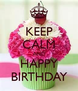 Keep Calm Happy Birthday