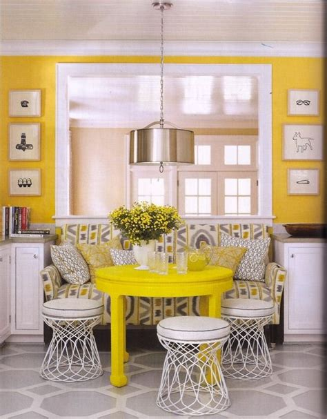 yellow kitchen table and tables as chairs ikat sofa yellow table and painted