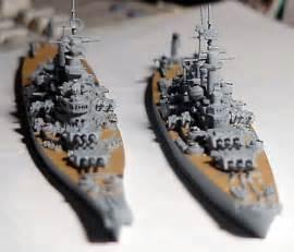 USS North Carolina Class Battleship