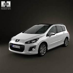 308 Peugeot 2012 : peugeot 308 sw 2012 3d model hum3d ~ Gottalentnigeria.com Avis de Voitures